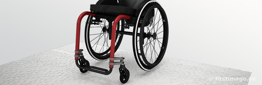 3D Imagefilm des K�schall Advance Wheelchair
