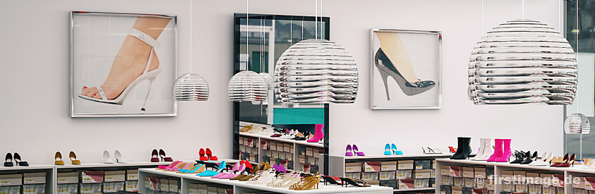 3D Visualisierung Shopping Center